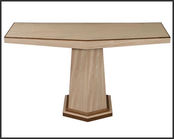 Window Console Table ~ John nicholas bespoke furniture